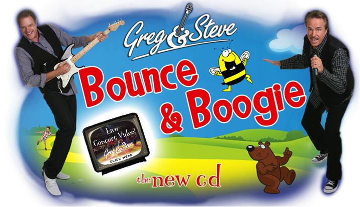 Greg and Steve In Concert Logo