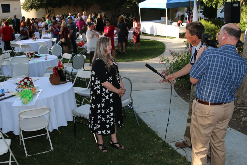 KETN interviewing guest