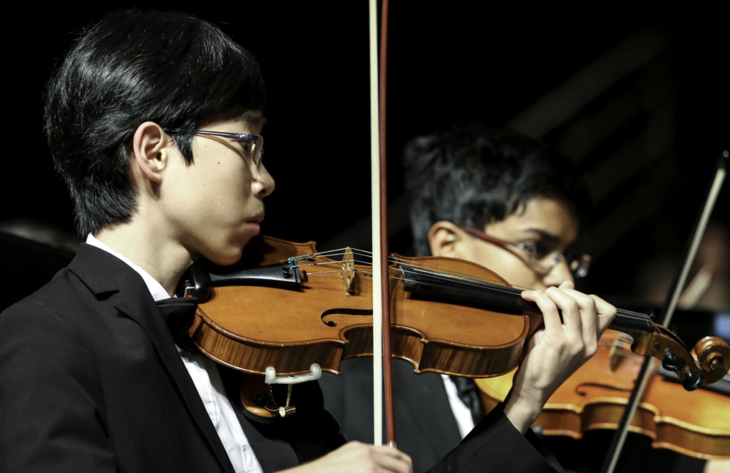 Youth performing @ the Honor Music Festival