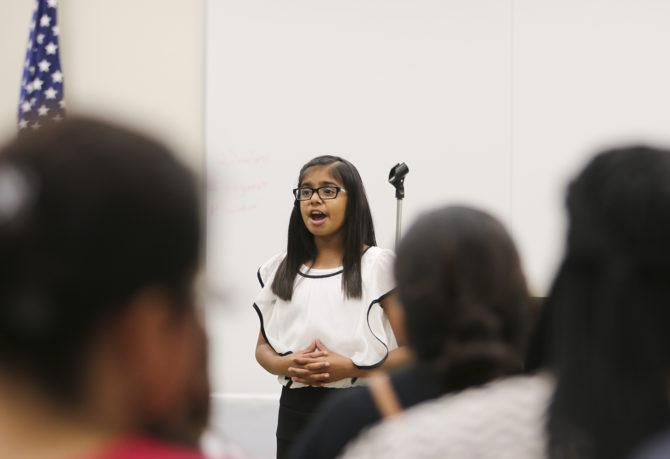 Girl @ Bank of America Essay/Speech Contest