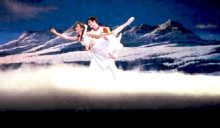 Nutcraker Dancers Dancing