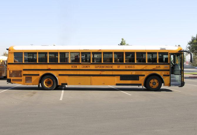 KCSOS 40-foot field trip school bus