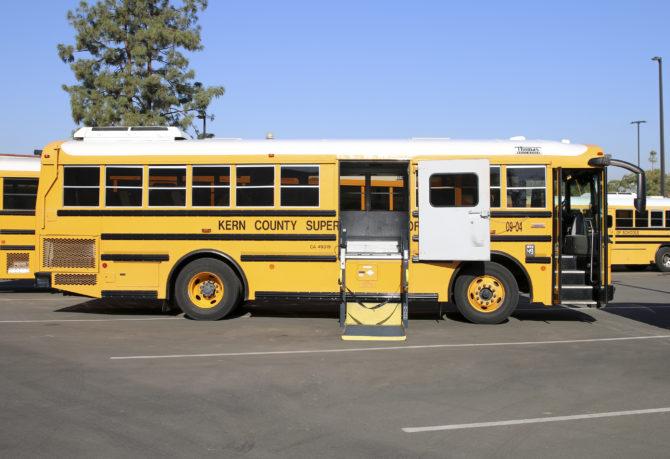 KCSOS wheel-chair school bus