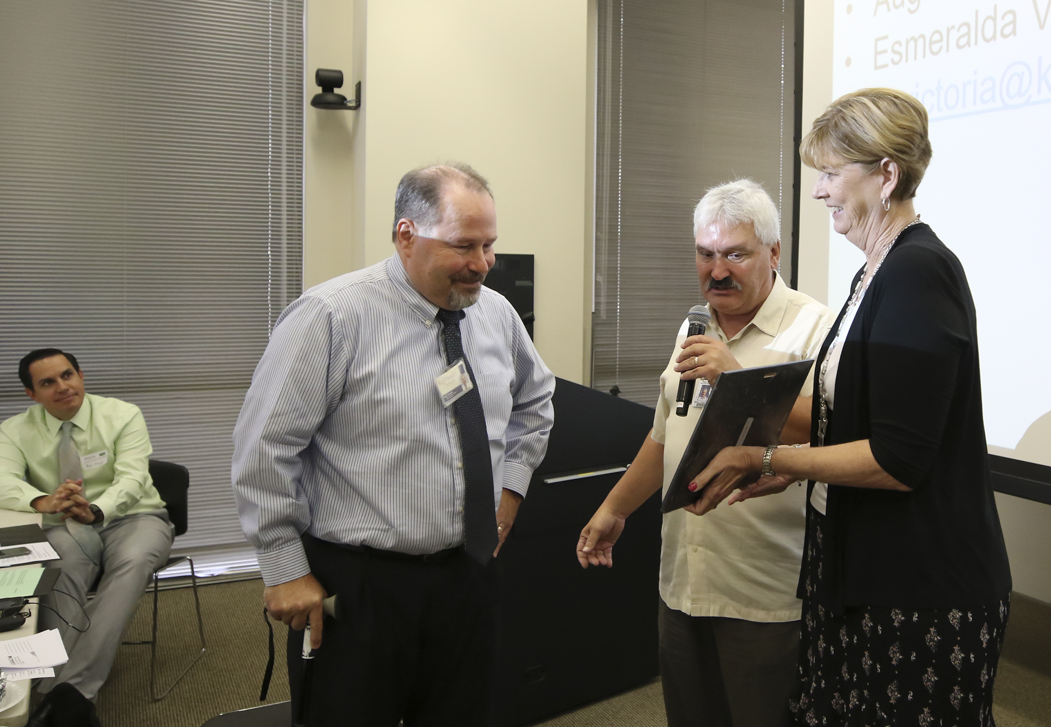 Daryl Thiesen Honored for School Attendance Work