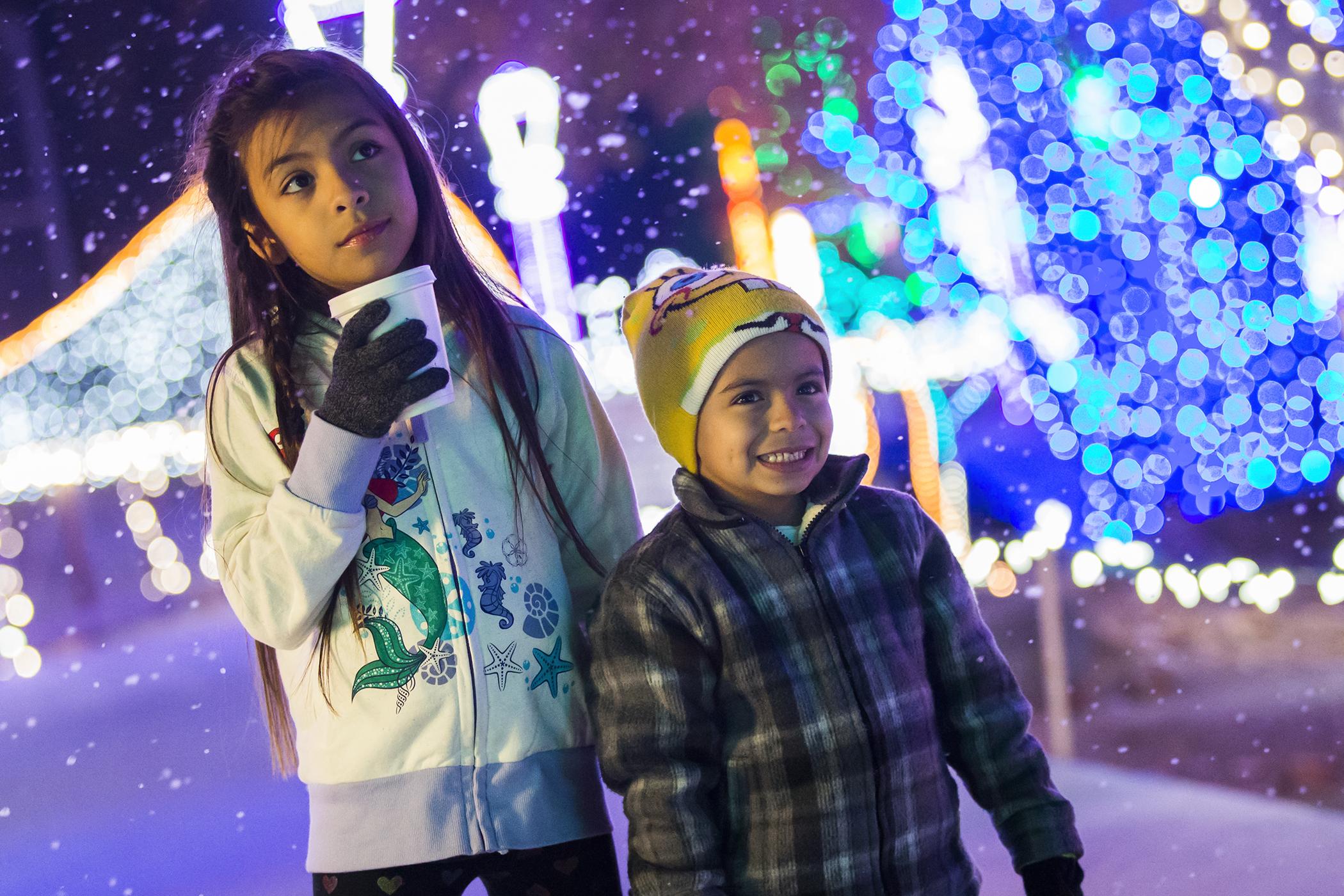 HolidayLights at CALM runs through January 5