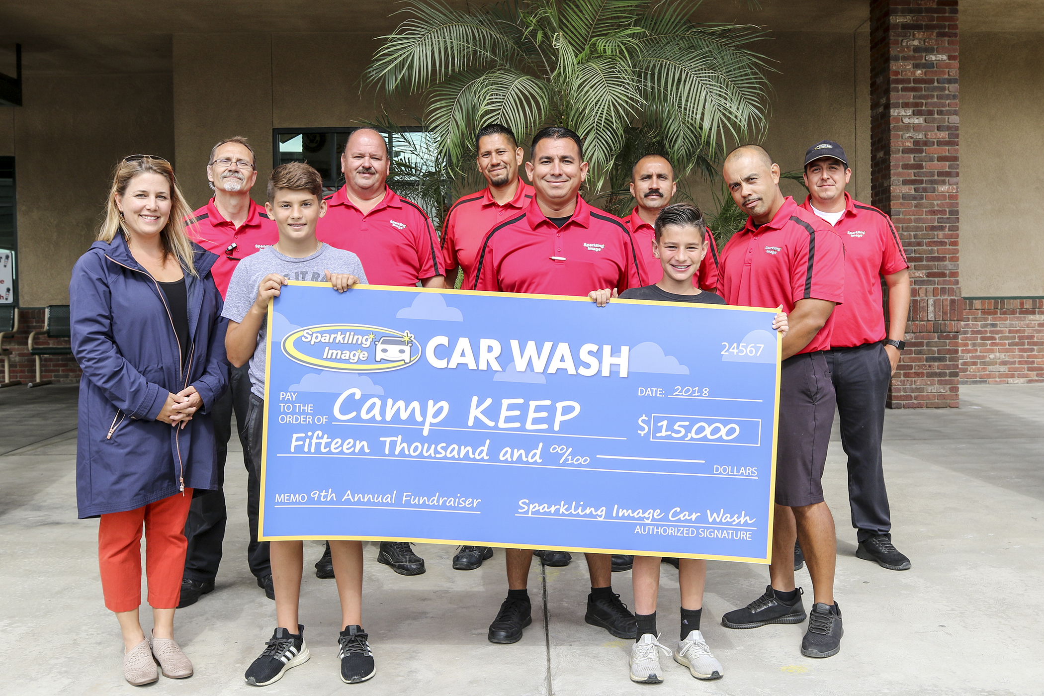 Camp KEEP benefits from generous donation