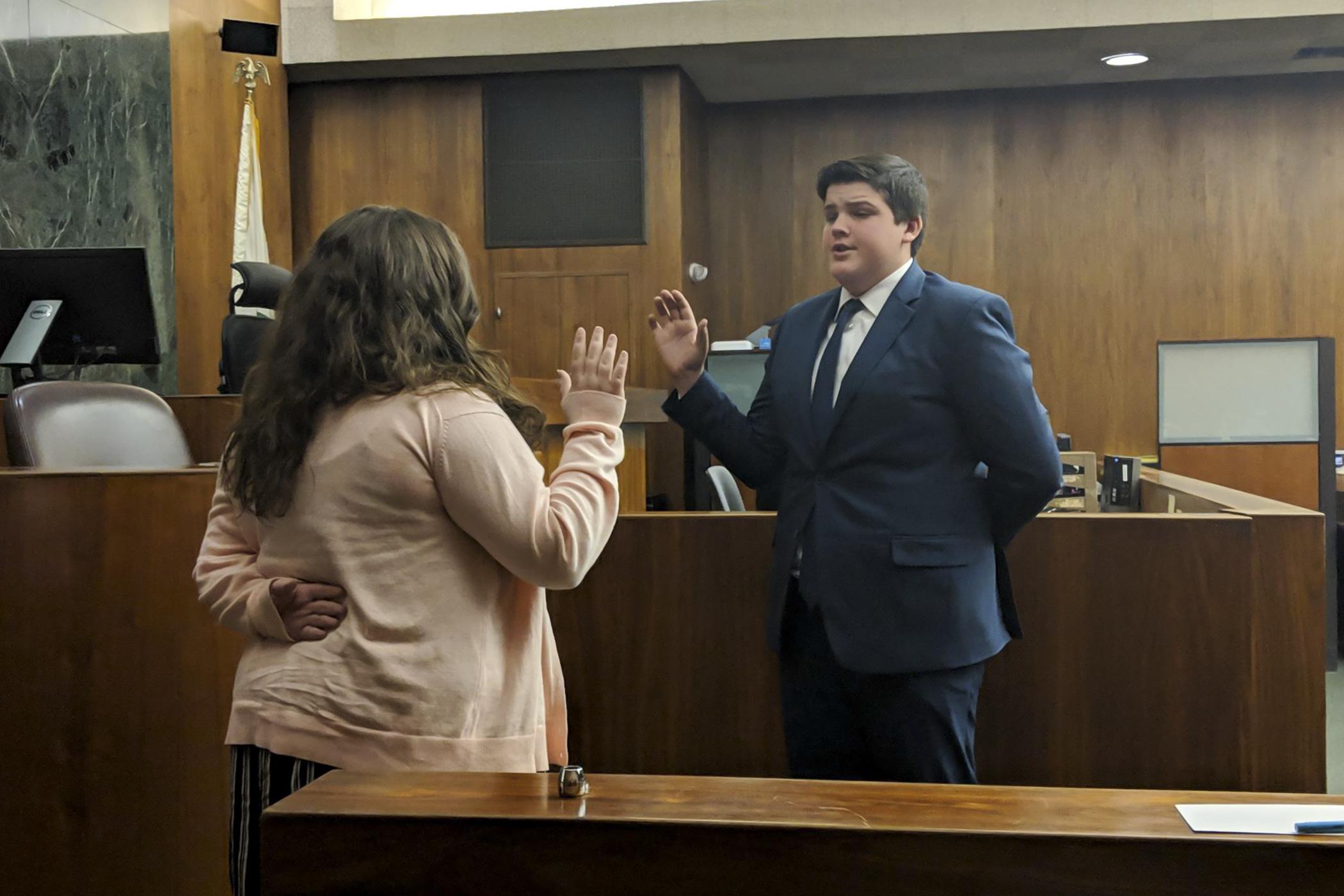 CentennialHigh School Wins Mock Trials
