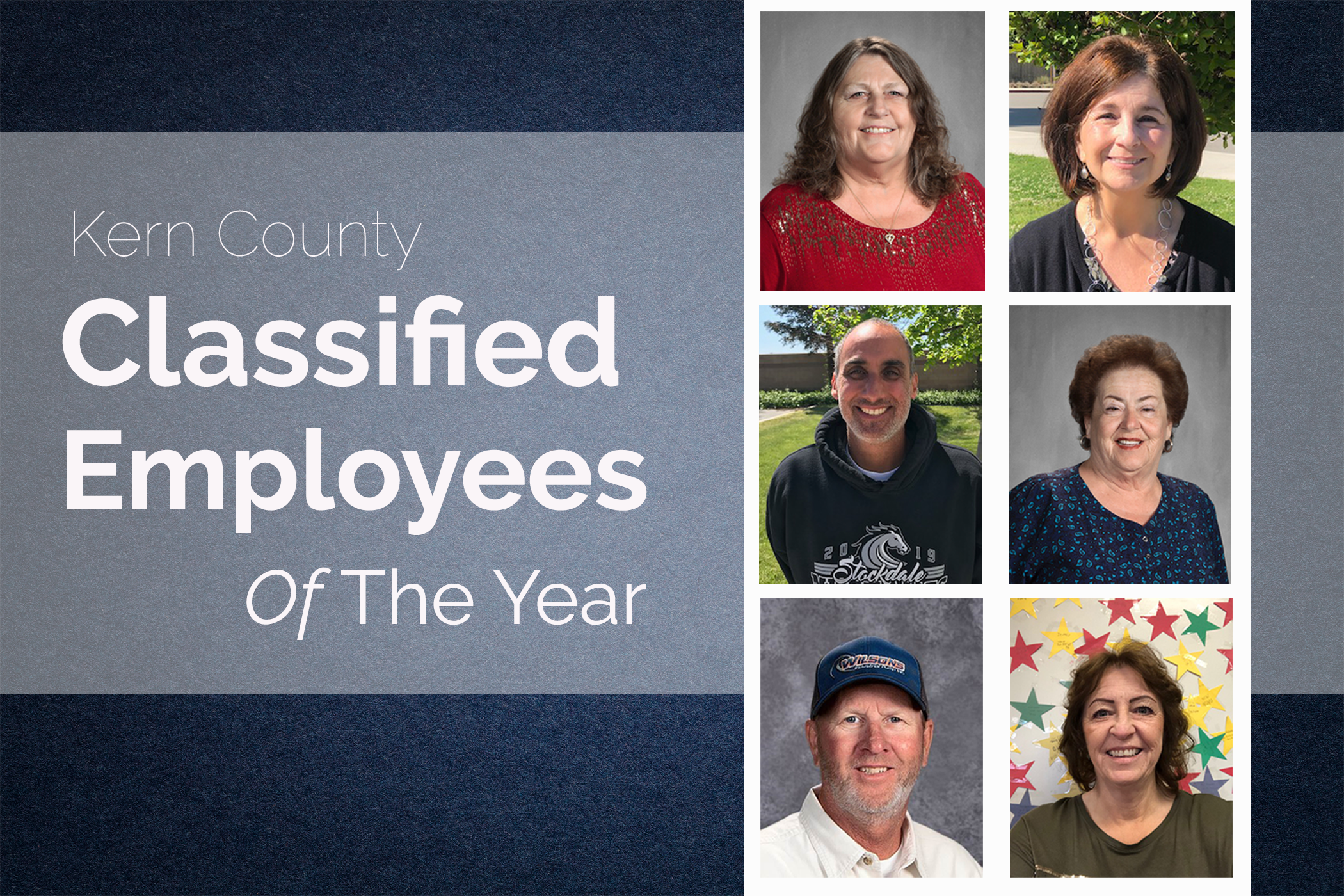 Kern County Classified Employees Of The Year Named