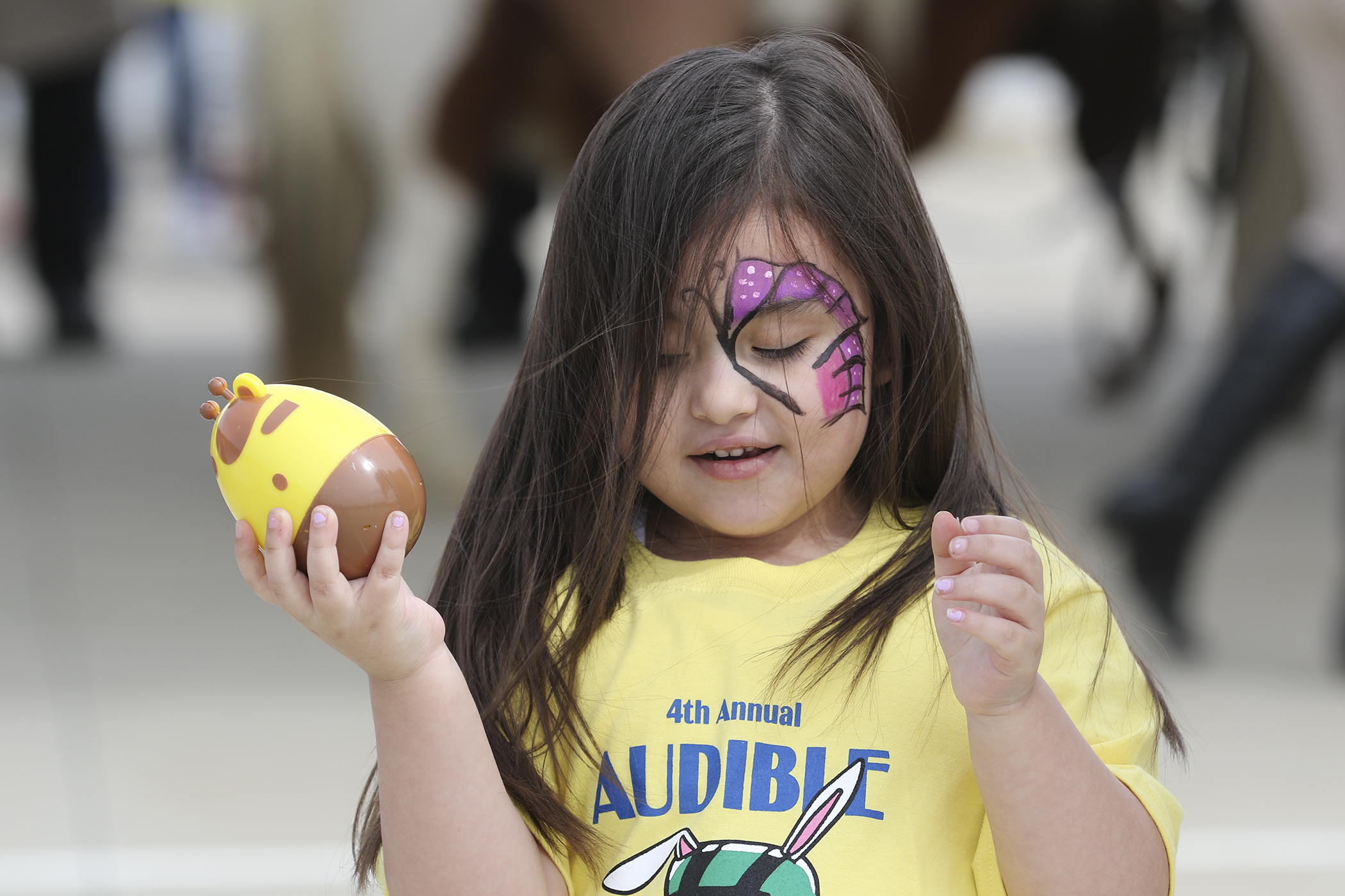 BPD Hosts Audible Easter Egg Hunt