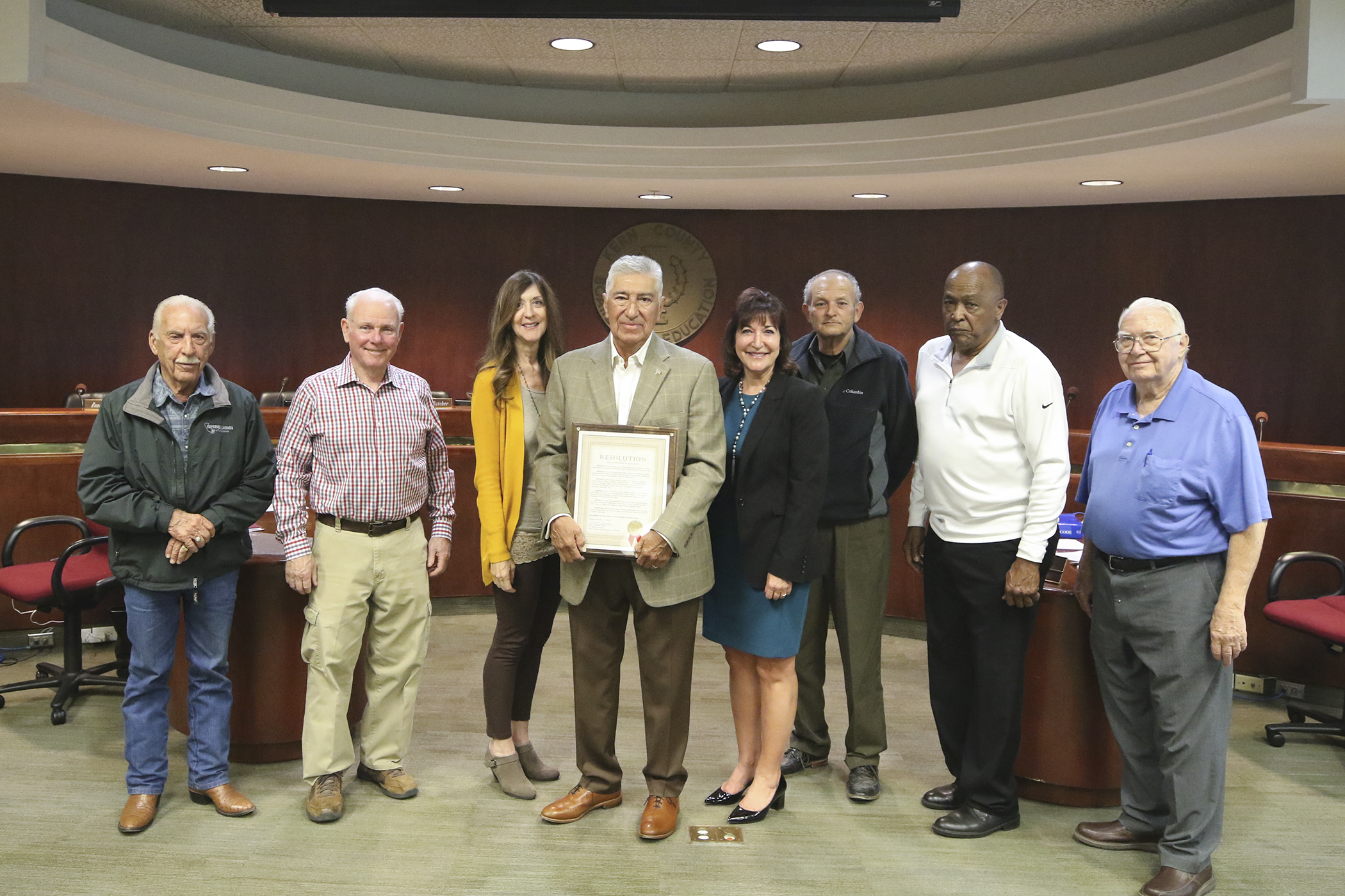 Vince Rojas Honored for 22 Years of Service