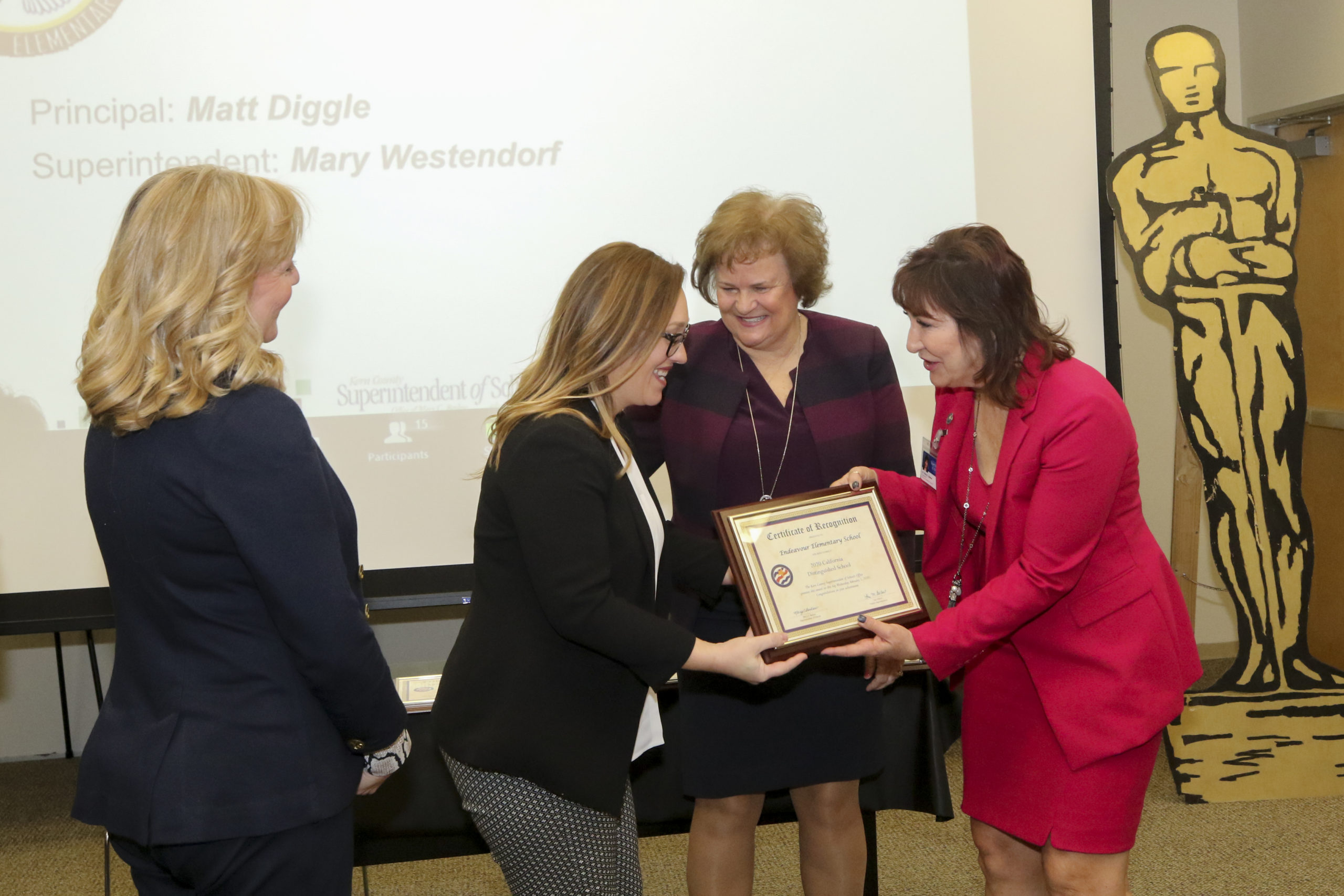 California Distinguished Schools Honored