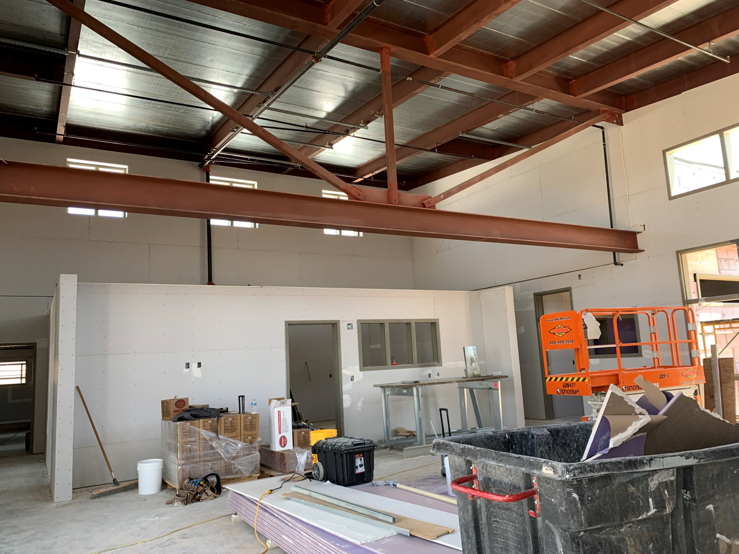 Aurora Learning Center Construction Photo Gallery